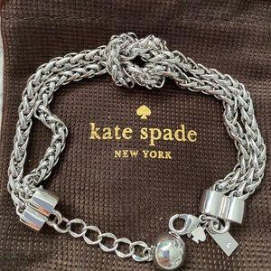 EUC Kate Spade knot bracelet